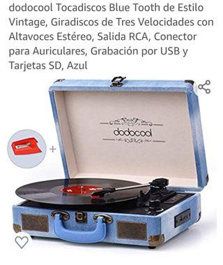 tocadiscos vintage picu