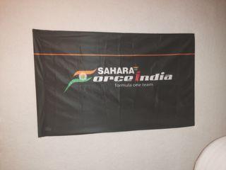 bandera force India F1