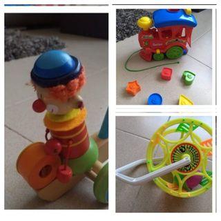 Lote juguetes infantil +12 meses nuevos y completo