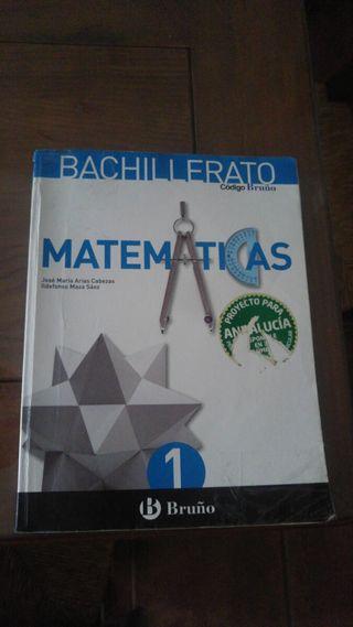 Libro de matemáticas 1°bachillerato