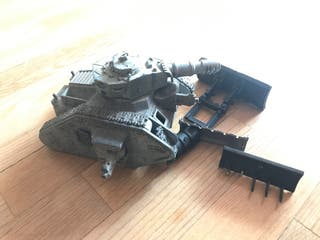 Leman Russ Battle Tank WARHAMMER 40K astra milita