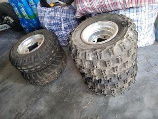ruedas quad suzuki ltr honda ktm