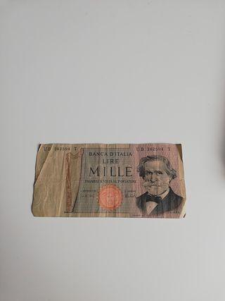 Banca d'Italia lire mille