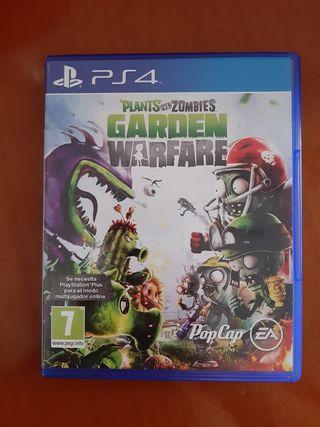 Juego Plants vs Zombies Garden Warfare PS4
