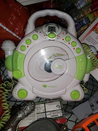 radio CD con micro infantil