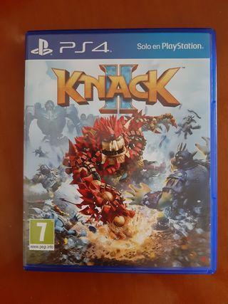 Juego Knack II PS4