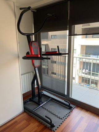 Musculación gimnasia máquina DOMYOS DS 980