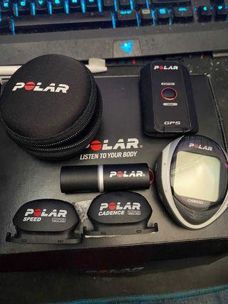 Pulsómetro Polar CS600X para ciclismo