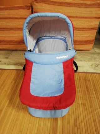 Capazo para carro de bebé