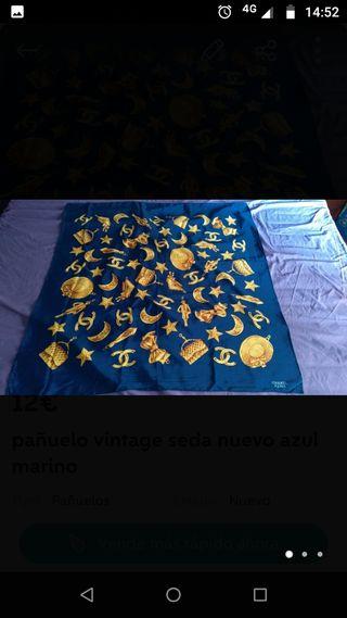 pañuelo vintage de seda