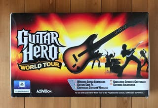 Guitar Hero World Tour con guitarra completo PS2