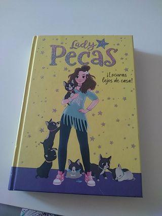 """Libro de """"Lady Pecas""""+5Cromos + Posits"""
