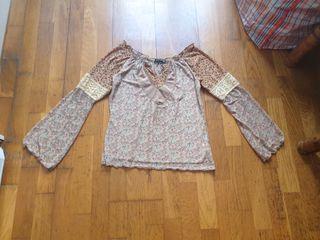Camiseta top Penelope S M boho hippie Todo por €3!