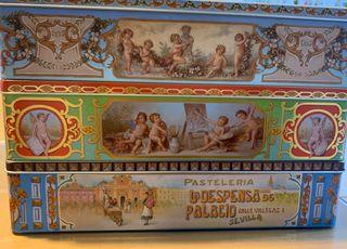 3 cajas de coleccion de La despensa de palacio