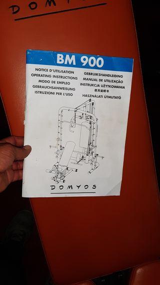 Máquina musculacion DOMYOS BM900 súper bien