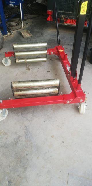 máquina de ayuda para cambiar neumáticos grandes