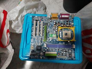 Placa Base Pentium 4 (sin CPU)