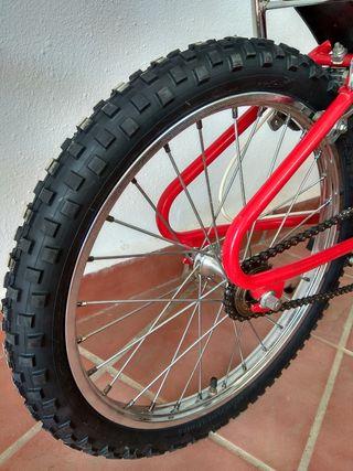 Cubierta bici 20 pulgadas
