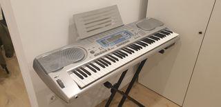 Teclado eléctrico piano CASIO