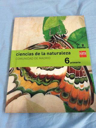 Libro Ciencia de la naturaleza 6primaria