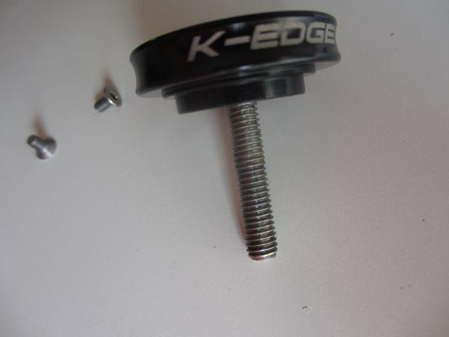 Soporte GPS K-EDGE Gravity cap