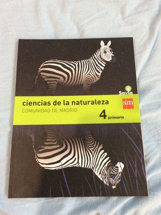 Libro Ciencias de la naturaleza 4 primaria