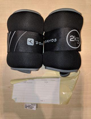 Lastres pesas DECATHLON 2kg (X2)