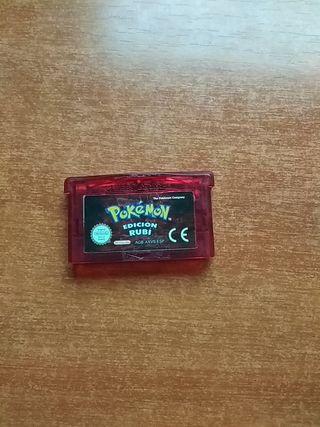 Pokemon rubí Game boy advance