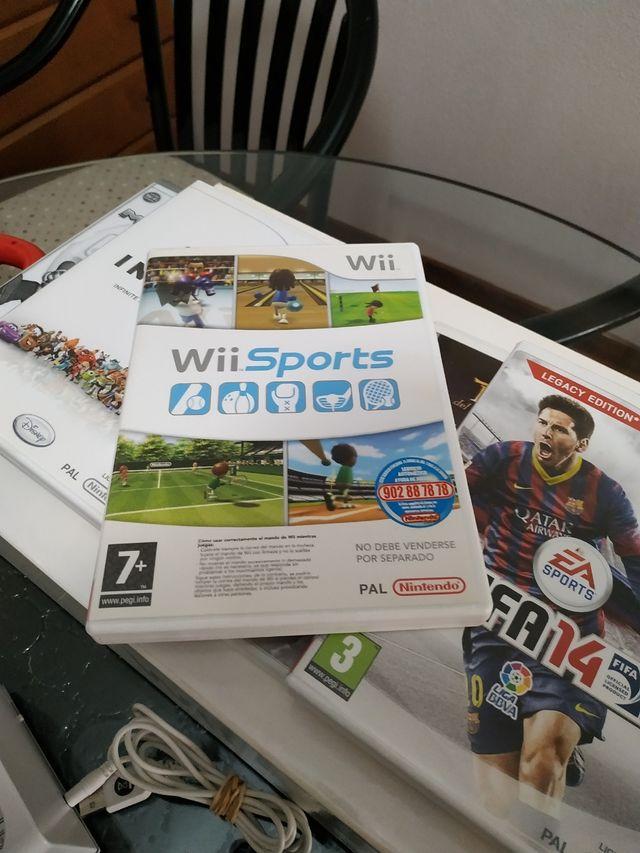 Consola Wii + Videojuegos + Artículos Wii
