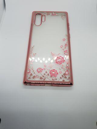 Rose Gold Floral Design Phone Case