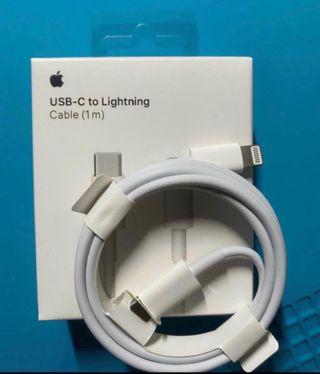 Cable usb c a lightning original apple iphone