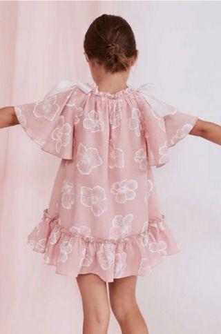 Vestido Dadatti 6 años con etiqueta