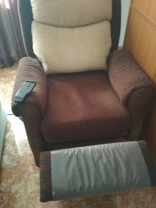 sillon reclinable con mando