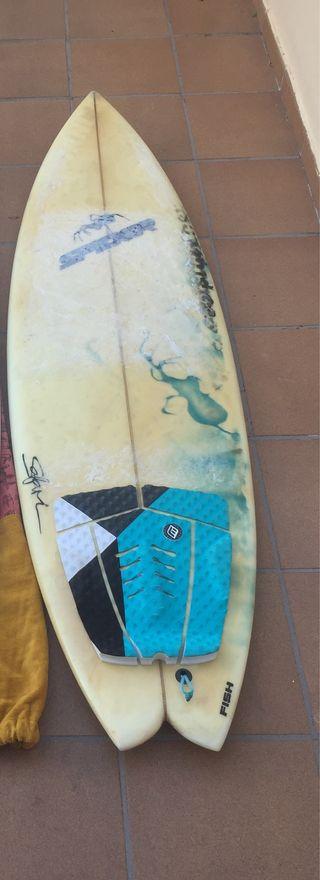 Tabla surf Spider 5.11
