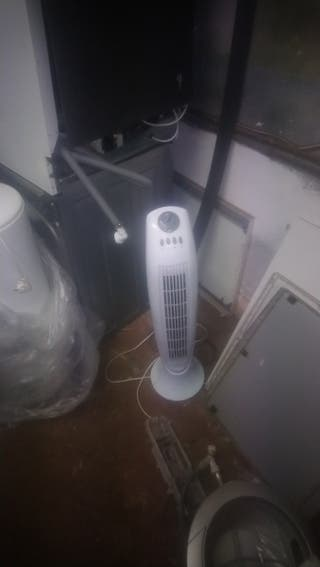 ventilador giratorio calefactor