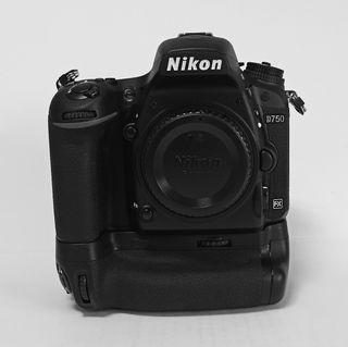 Nikon D750 + Grip MB-D16 + Disparador inalámbrico