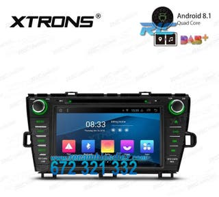 NAVEGADOR TOYOTA PRIUS ANDROID 8.1 CANBUS LCD TÁCT