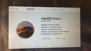 Macbook Air 13 2017 nuevo