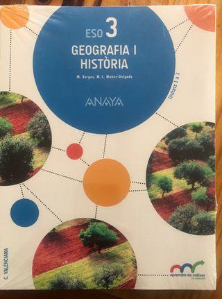 Geografia i historia 3 ESO. A estrenar