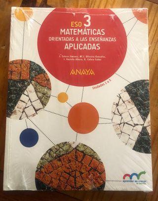 Matemáticas Aplicadas 3 ESO. A estrenar