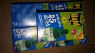 liquidacion Antimosquitos Raid 13 unidades oferta