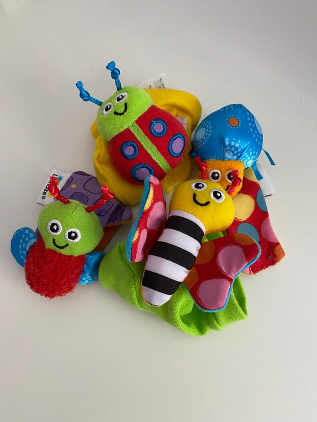 Juguete Sonajeros: muñequeras y calcetines