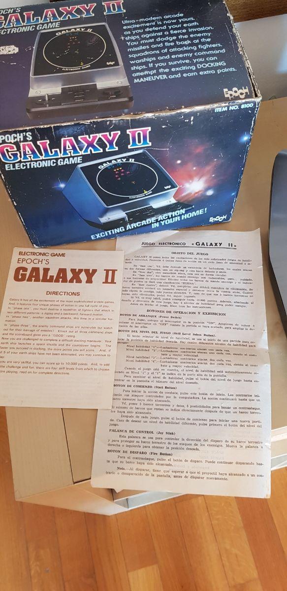 Galaxy II EPOCH Videoconsola