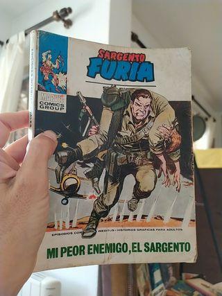 antiguo Marvel libro comic