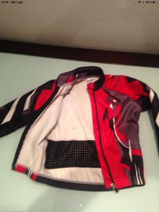Mallot o chaqueta polar niño ciclismo 4,5,6 años