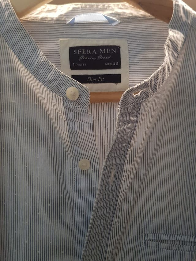 Camisa Sfera cuello Mao