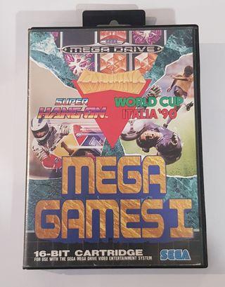 Videojuego Mega Games I Mega Drive.
