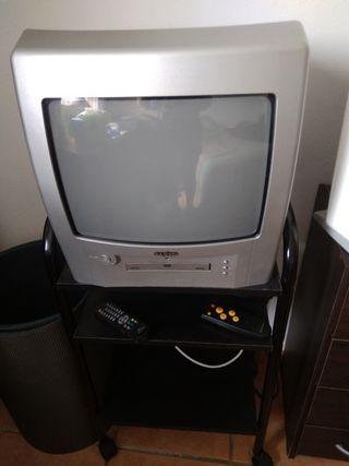 Televisión Sanyo 14 pulgadas DVD Incluido