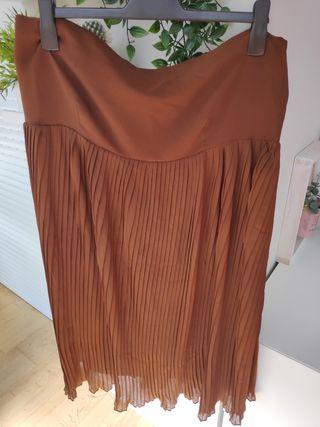 Falda plisada NUEVA talla 48-50