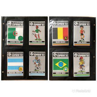 CROMOS MUNDIAL FUTBOL ESPAÑA 82